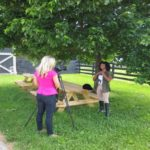Megan Piphus shoots music video at Kentucky Equine Humane Center