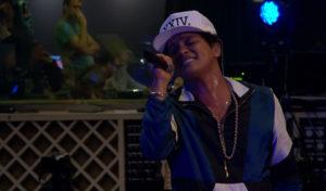 "Bruno Mars Sings Adele's ""All I Ask"""