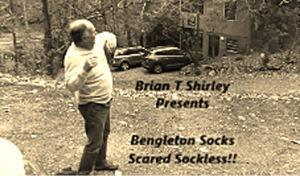 Bengleton Socks: Scared Sockless