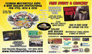 Full Throttle Florida Motorcycle Expo & Bike Builder Invitational 2017