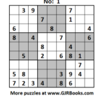 Monthly Sudoku Puzzle