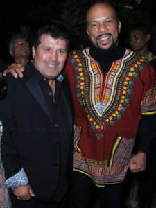 Oscar Award winning Rapper Common Hosts South African Get Down in Hollywood