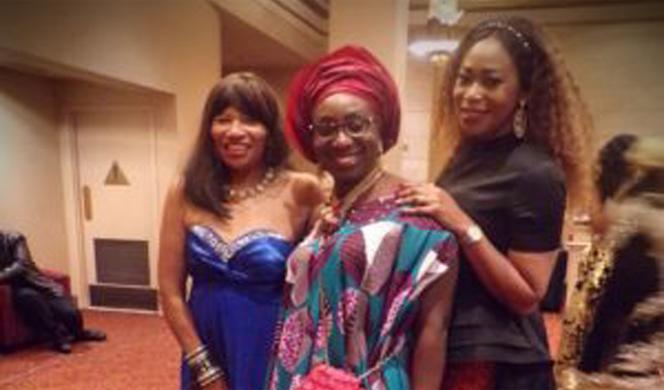 Nigerian Princess Shines Among the Stars 2nd Annual HAPAwards