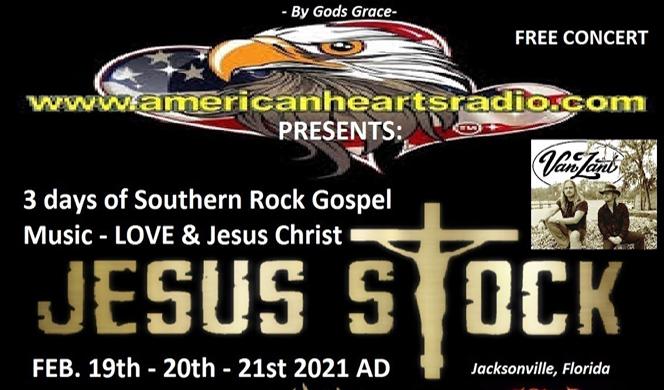VanZant at JESUS STOCK